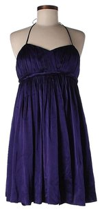 Alice + Olivia Silk Empire Waist Pleated Dress