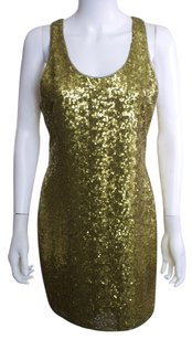 Alice + Olivia Tank Sequin Dress