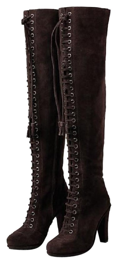 discount new arrival AllSaints Suede Over-The-Knee Boots discounts for sale Qj3gT
