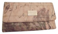 Alviero Martini Geo Map Clutch Wallet