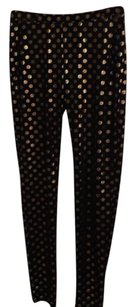 Amara Black/gold Leggings