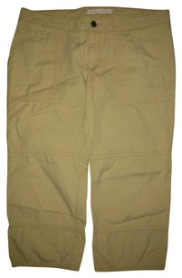 American Eagle Outfitters Capris Beige