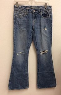 American Eagle Outfitters Distressed Flare Leg Jeans
