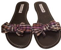 American Eagle Outfitters Purple, white, black Sandals