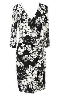 American Living Floral Womens Polyester Dress