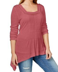 American Rag Long-sleeve New With Defects 3520-0071 Top