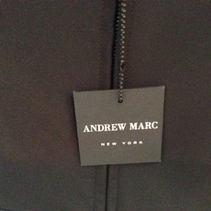 Andrew Marc Coat Ski Winter Black Jacket