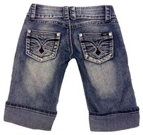 Angels Jeans Cuffed Shorts Blue
