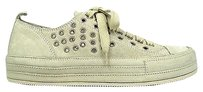 Ann Demeulemeester Sneakers Cream Suede White Athletic