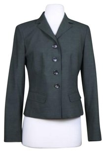 Ann Taylor Womens Basic Green Jacket