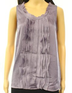 Ann Taylor LOFT 100% Polyester Cami Pre-owned Top