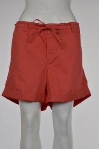 Ann Taylor LOFT Womens Shorts Coral Orange