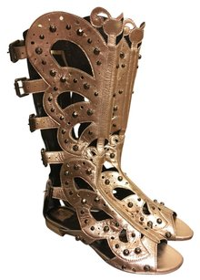 Anna Sui Gladiator Pink Sandals