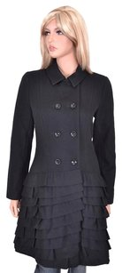 Anne Fontaine Coat Black Jacket