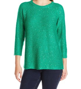 Anne Klein 10594114 Crewneck Long Sleeve Sweater