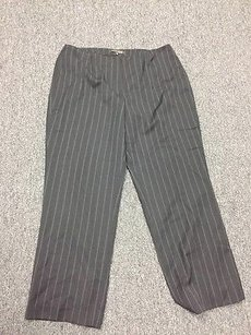 Anne Klein York Striped Pants