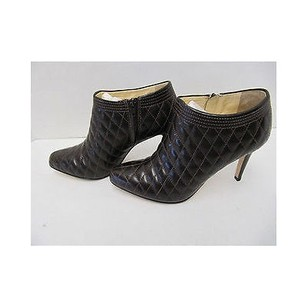Anne Klein Brown Quilted Browns Boots