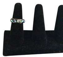 Anne Klein Blue ang green jeweled ring