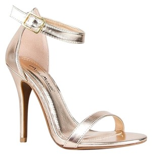 Anne Michelle Gold Sandals