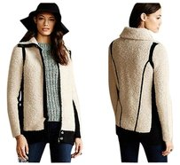 Anthropologie Colorblocked Boucle By Coat