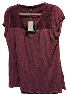 Anthropologie T Shirt Berry