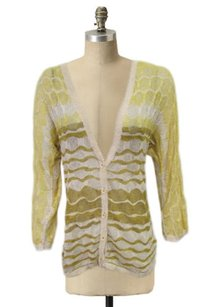 Anthropologie Yellow Ombre Cardigan Charlie Robin Sweater