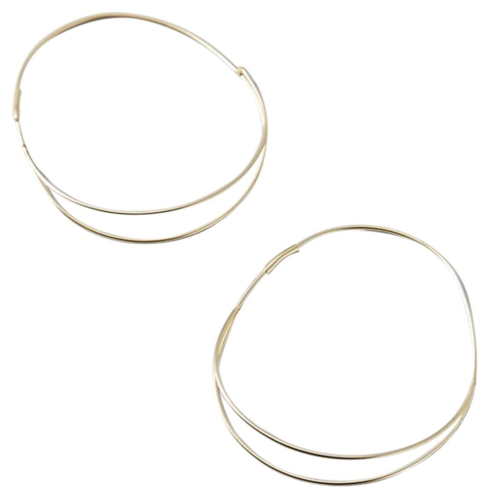 Anthropologie Elowen Hoop Earrings 0LJWf