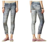 Anthropologie Mother Looker Fray Skinny Jeans