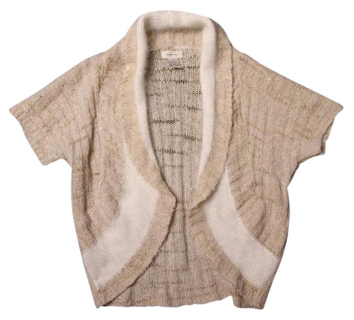 Anthropologie Angora Wool Blend Shrug Sweater By Sleeping