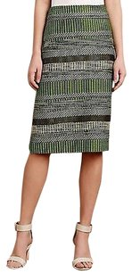 Leifsdottir Striped Jade By Skirt