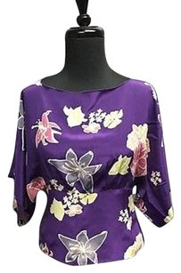 Anthropologie Anna Sui For Top Purple