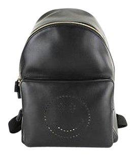 Anya Hindmarch Smiley black Messenger Bag