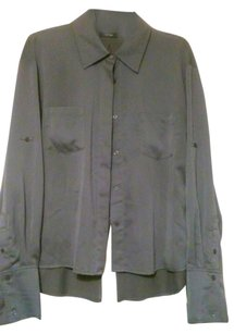Apt. 9 Button Down Shirt Grey