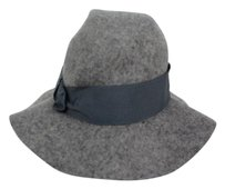 Aqua Aqua Womens Gray Marbled Bucket Hat One Wool