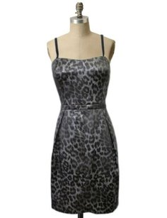 Aqua Dresses Aqua Bloomingdales Animal Print Cocktail Dress