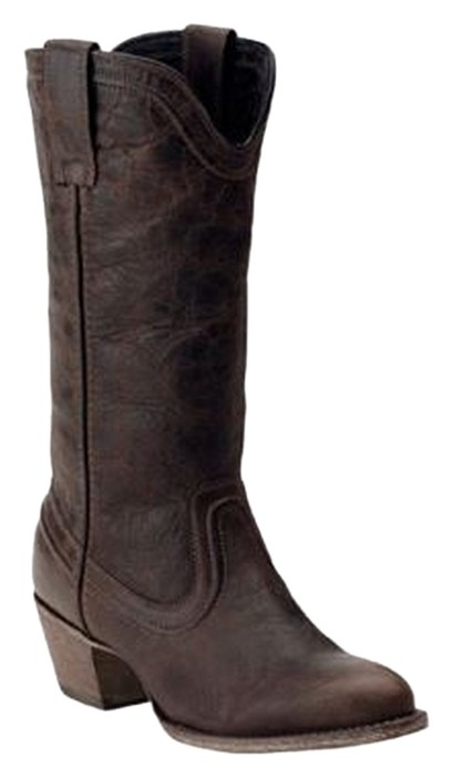 Ariat Bluebell Vintage Look Western Cowboy Brushed Brown Boots