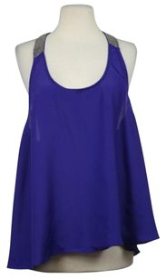 Ark & Co. Co Womens Top Purple