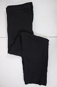 Armani Collezioni Womens Solid Dress Acetate Blend Pants