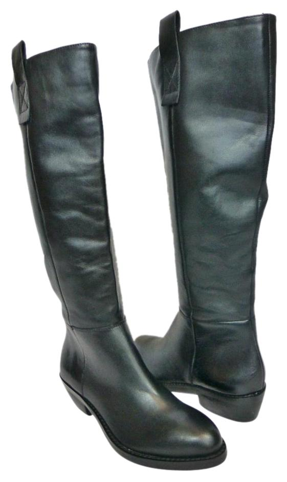 arturo chiang kirk leather black boots on sale 54