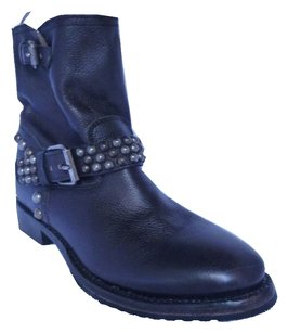 Ash Leather Boot Black Boots