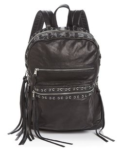 Ash Leather Silver New With Tags Edgy Backpack