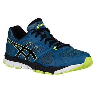 Asics Sapphire/Midnight/Flash Yellow Athletic