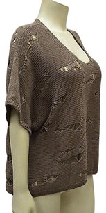 Autumn Cashmere Cotton By Light Open Weave 120013pk Sweater