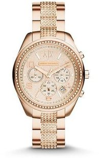 A|X Armani Exchange Armani Exchange Active Rose Gold-tone Chronograph Ladies Watch Ax5517