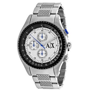 A|X Armani Exchange Armani Exchange Ax1602 Mens Watch Silver -