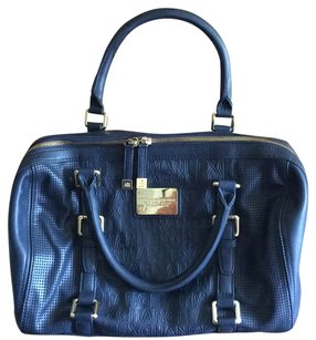 A|X Armani Exchange Satchel in Navy Blue