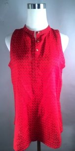 A|X Armani Exchange Ax Chinese Top Red