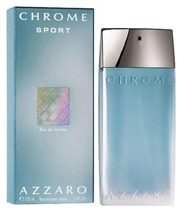 Azzaro CHROME SPORT by AZZARO Eau de Toilette Spray for Men ~ 3.4 oz / 100 ml