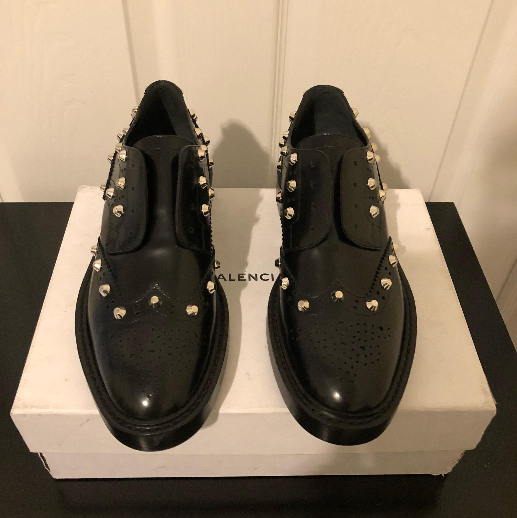 brand new unisex discount footlocker pictures Balenciaga Leather Laceless Oxfords cheap sale sneakernews outlet shopping online really sale online bAyktVv