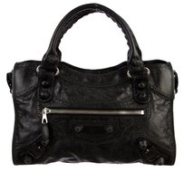 Balenciaga Brogues Giant Tote in Black